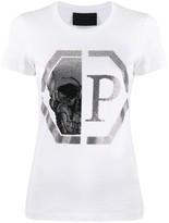 Philipp Plein Hexagon logo short sleeve T-shirt