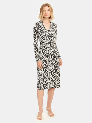 Diane von Furstenberg Power Silk Midi Dress