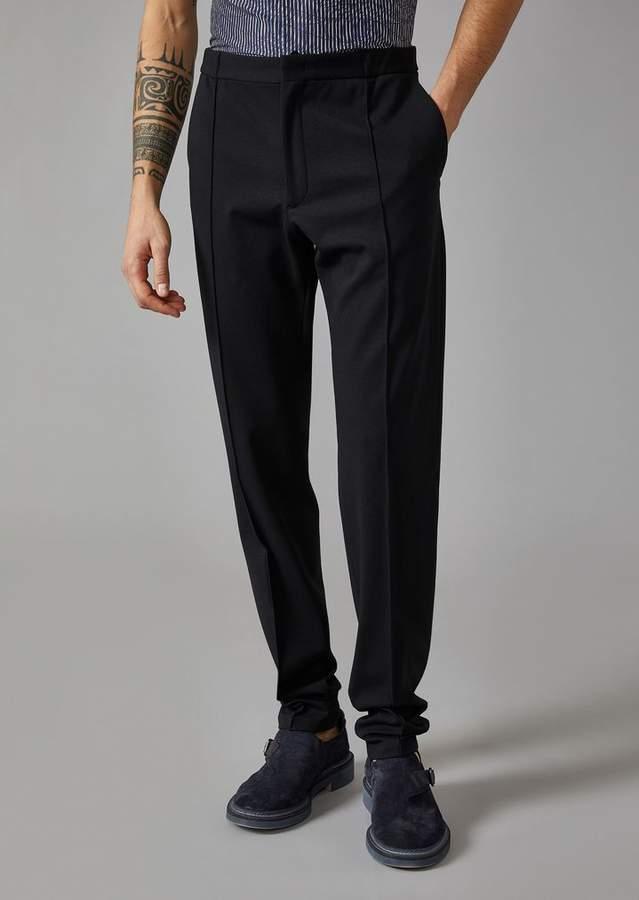 Giorgio Armani Classic Broadcloth Trousers