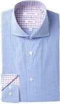 Isaac Mizrahi Gingham Slim Fit Dress Shirt