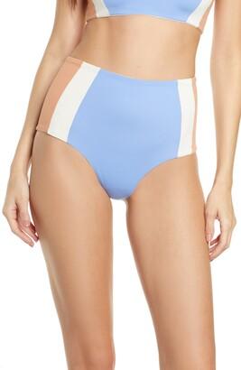 L-Space L Space Portia Girl High Waist Bikini Bottoms