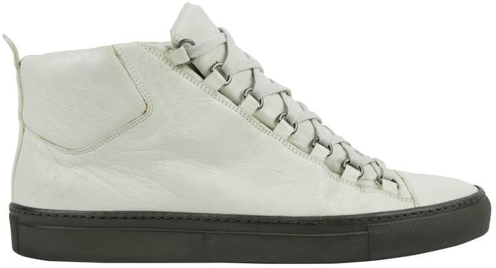 Balenciaga Leather low trainers