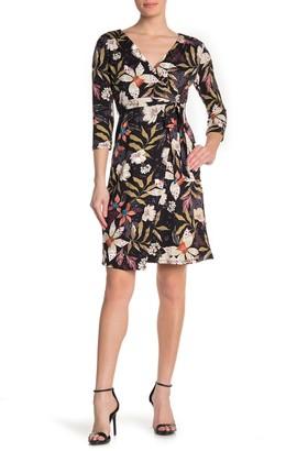 Kenedik Leopard Print Waist Tie Dress