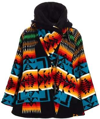 Lindsey Thornburg Printed Hooded Cloak