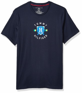 Tommy Hilfiger Men's Jersey Sleep Lounge Crew Neck