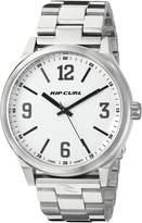 Rip Curl Men's A2835-WHI Flyer II Analog Display Analog Quartz Silver Watch