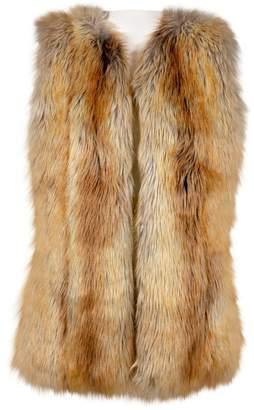 Bsable Brown Faux fur Jackets