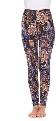 WHITE MARK White Mark Not Applicable Womens Mid Rise Legging