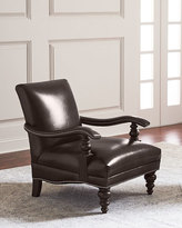 Hooker Furniture Dalton Leather Accent Chair
