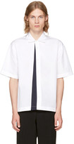 Marni White Panelled Sport Shirt