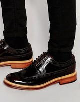 Grenson Sid Derby Brogue Shoes