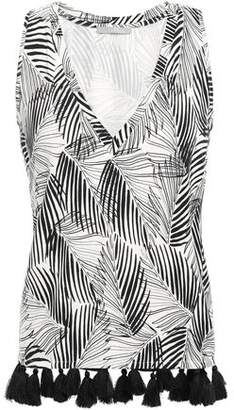 Tart Collections Emory Tasseled Stretch-modal Top