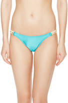 Vix Paula Hermanny Solid Emb Detail Full Bikini Bottom