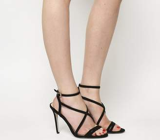 Office Hope Strappy Heeled Sandals Black