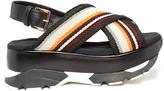 Marni Fussbett slingback leather platform sandals
