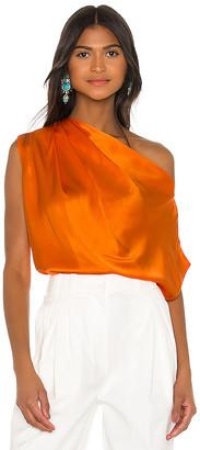 Mason by Michelle Mason x REVOLVE Asymmetrical Drape Top