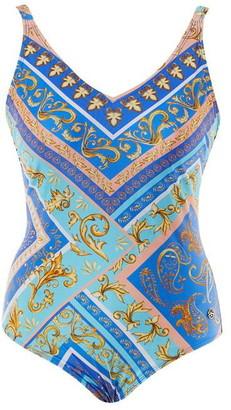 Seaspray Valentina Scarf Print Strap Suit