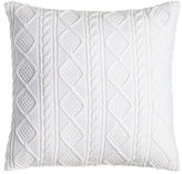 "Ralph Lauren Home Judson Cable-Knit Pillow, 20""Sq."