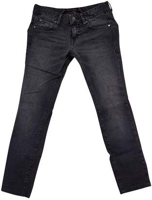 Armani Exchange Blue Cotton Jeans for Women
