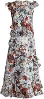 Erdem Seana Yuki Garden floral-print dress