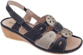 Boulevard Womens/Ladies Touch Fastening Slingback Sandals