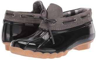 Skechers Pond - Posy One (Black/Charcoal) Women's Boots