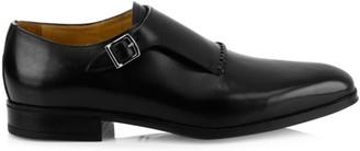 Sutor Mantellassi Marzio Leather Monk Shoes