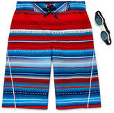 ZeroXposur Patriot Stripe Swim Trunks - Boys 8-20
