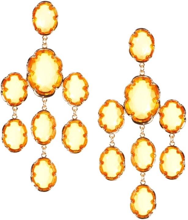 Asos Exclusive Chandelier Earrings