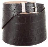 Michael Kors Embossed Leather Belt