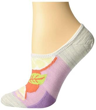Ash Darn Tough Vermont Topless Clementine No Show Hidden Lightweight Women's Crew Cut Socks Shoes