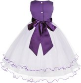 ekidsbridal Wedding Party Handmade Butterflies Rattail Edge Tulle Flower Girl Dress 801S