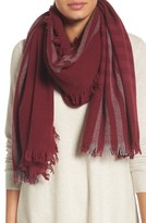 Eileen Fisher Women's Plaid Wool Blend Scarf