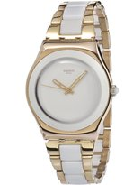 Swatch Women's YLG121G Quartz Stainless Steel Dial Watch