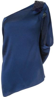 Roland Mouret Heartwell asymmetric top