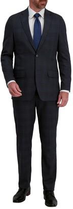 Haggar Men's J.M. Signature Herringbone Tailored Fit Suit Separate Coat