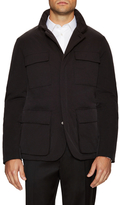 Canali Quilted Field Jacket