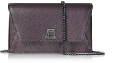 Akris Blackberry Cervocalf Anouk Mini Envelope Bag