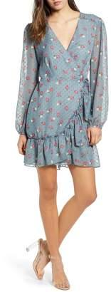 WAYF Eloise Wrap Minidress