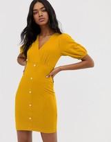 Asos Design DESIGN mini rib tea dress