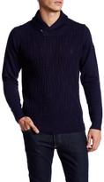 Ben Sherman Texture Shawl Collar Knit Sweater