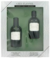 Geoffrey Beene GREY FLANNEL by Men's Gift Set - 4 oz Eau De Toilette Spray + 4 oz After Shave - 100% Authentic by