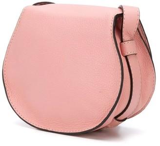 Chloé Small Marcie Cross-body Bag Fallow Pink