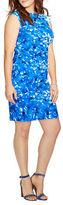Lauren Ralph Lauren Plus Floral Jersey Dress