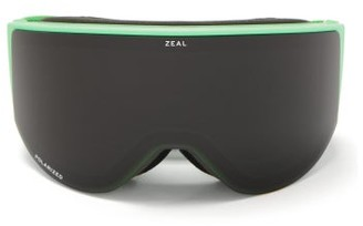 Zeal Optics Beacon Cylindrical-lens Tpu Ski Goggles - Black Green