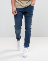 Pepe Jeans Nickel Slim Fit Jeans in Indigo