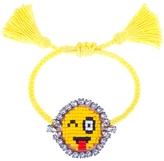 Shourouk Bling Blink Emoji Bracelet