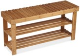 Household Essentials 2-Shelf Storage Bench