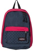 Eastpak Pink and Spotted Denim Backpack