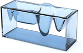 Lexon Liquid Station Desktop Organiser - Blue